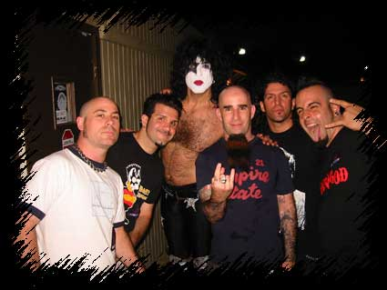 Anthrax 2003 w/ Paul Stanley