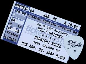 Hatchet Ticket / Pick