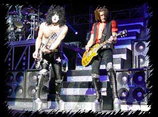 Paul Stanley & Joe Perry