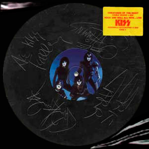 Kiss - Creatures Etched