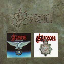 Saxon-Wheels of Steel/Strong Arm of the Law