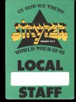 In God We Trust Tour Pass