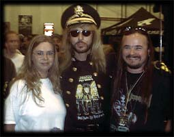 My wife Laurie, Robert Sweet and Me!