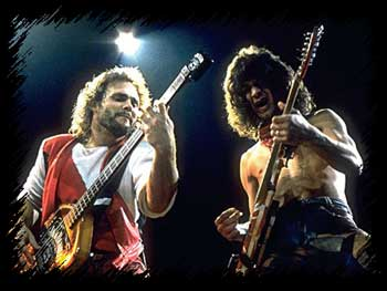 Micheal Anthony & Eddie VanHalen