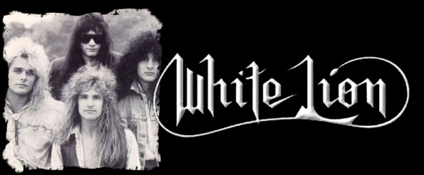 motorcycle super white lion band logo